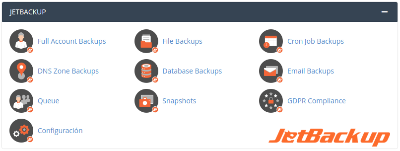 Hosting Wordpress Backups Diarios